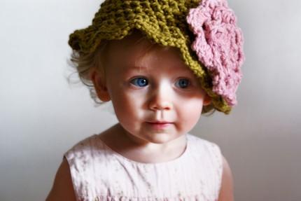 Kristi's baby hat (not her baby)